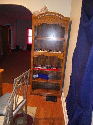 Bookshelves, bunkbed stairs with drawers for Sale in Buffalo, NY