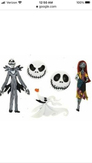 Nightmare Before Christmas Buttons - Set of 5 for Sale in Chicago, IL
