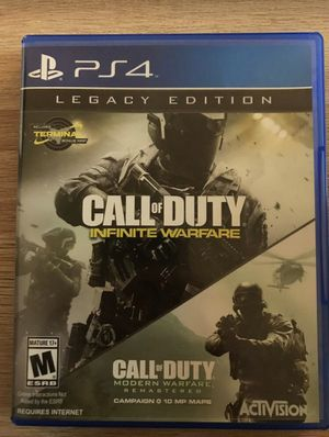 Call of Duty Infinite Warfare PlayStation 4 PS4 mint for Sale in San Diego, CA