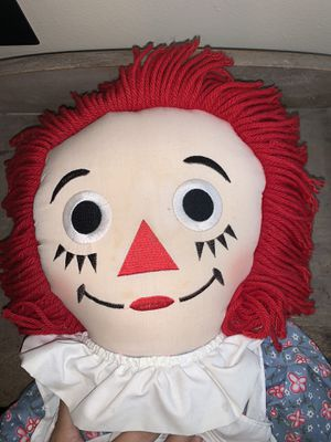 Original Raggedy Ann Doll -  36in. Good Condition - Soft for Sale in Morrisville, PA