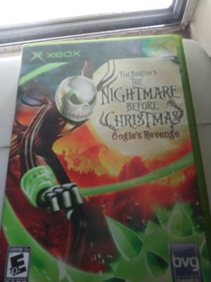 The nightmare before christmas game for Sale in Fresno, CA