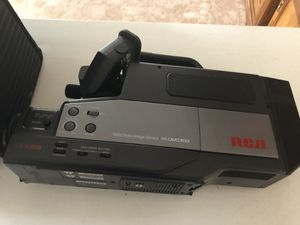 RCA VHS camcorder & case for Sale in Manalapan Township, NJ