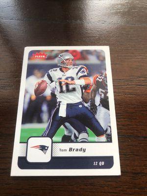Tom Brady football card for Sale in Deltona, FL