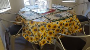 Dinning table set(4 chairs)Moving sale price negotiable. for Sale in Salt Lake City, UT