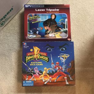 Power rangers and spy gear toys board games for Sale in Aspen Hill, MD