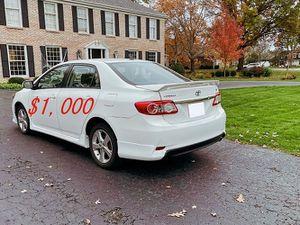 🍀URGENT,For sale 2012 Toyota Corolla!!!Price$1000🍀 for Sale in Baton Rouge, LA
