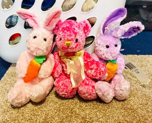 Spring Time Stuffed Animal Bundle for Sale in Wells, ME