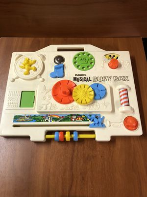 Vintage Playskool Disney Musical Busy Box for Sale in March Air Reserve Base, CA