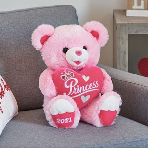 Valentine's Day Large Sweetheart Teddy Bear, Pink for Sale in Arlington, VA
