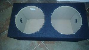 12 in. Sealed sub box for Sale in Murrieta, CA