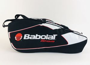 Used, Babolat Team Tour Tennis Pack Bag Red Black White Backpack ThermoGuard technology Racket Holder Bag for Sale for sale  Johns Creek, GA