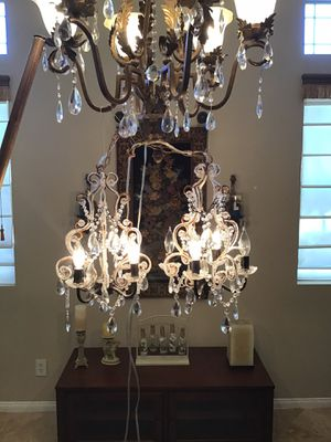 Beautiful chandelier lights for Sale in North Las Vegas, NV