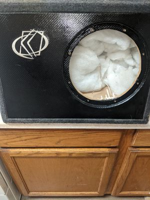 10 inch kicker truck box! $40 OBO for Sale in Portland, OR