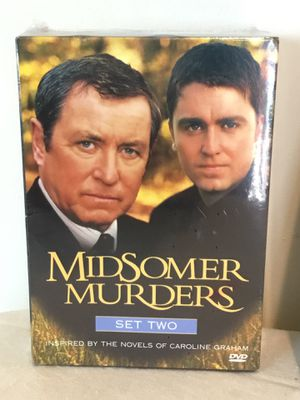 Midsomer Murders Set Two Dead Man's Eleven/Death Of A Stranger/Blue Herrings condition sealed for Sale in Berlin, MD