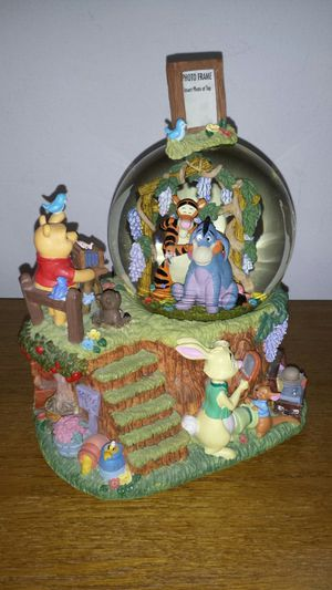 Disney Winnie The Pooh Musical Snow Globe for Sale in Palatine, IL