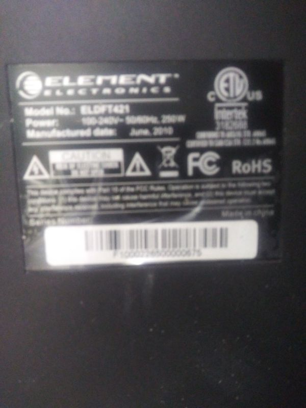 "Element 42"" LCD HDTV"