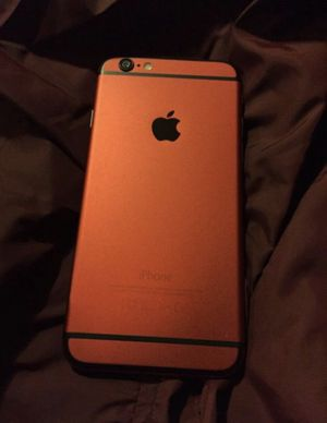 Red customized iPhone 6 Unlocked 64gb. for Sale in Saint Paul, MN