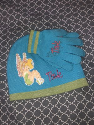 Tinkerbell beanie n gloves for Sale in Castro Valley, CA