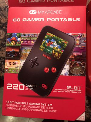 MyArcade Go Gamer 16 bit portable gaming system for Sale in Bothell, WA
