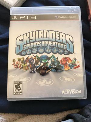 Skylanders Spyros adventure ps3 for Sale in Portland, OR
