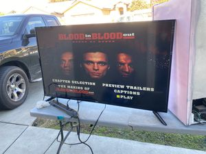 $80 tv selling as is. 50 inches volume is low for Sale in Fresno, CA