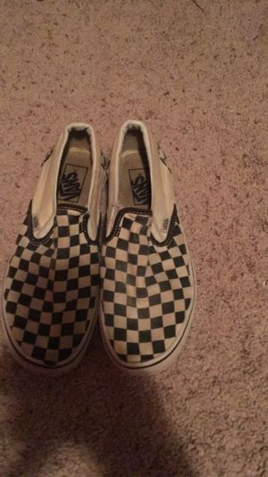Checkered vans ( size 8.5 ) serious inquires only for Sale in Wichita, KS