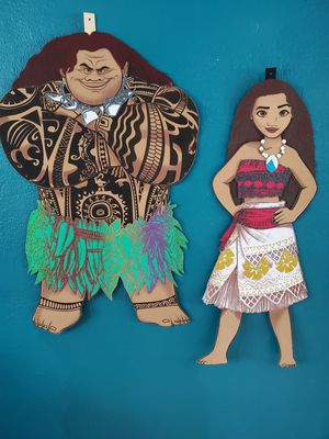 Decorations for birthday moana for Sale in Lake Worth, FL