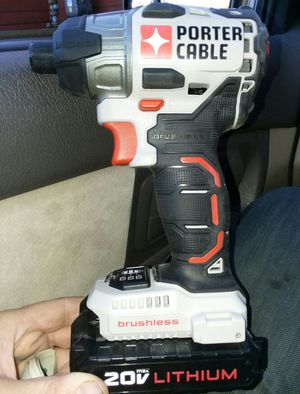 """BRAND NEW Porter Cable 20v 1/4"""" impact wrench for Sale in Snohomish, WA"""