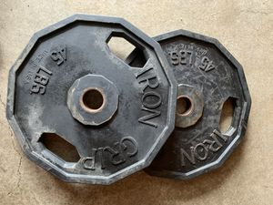 Iron Grip Olympic weight plates for Sale in Kent, WA