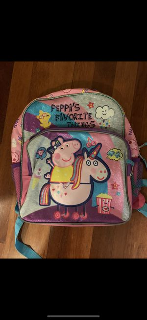 Peppa pig backpack for Sale in Morgan Hill, CA