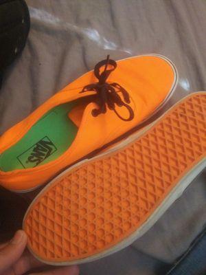 Vans orange shoes for Sale in Boise, ID