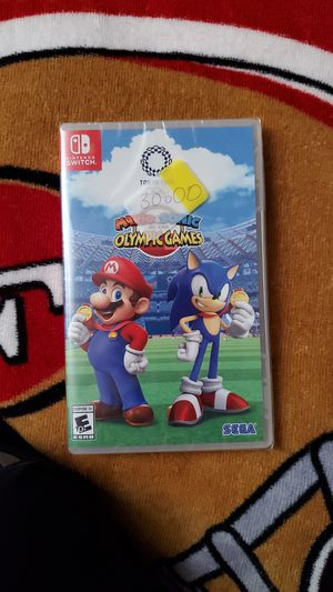 Nintendo switch Mario sonic Olympics games for Sale in Fresno, CA