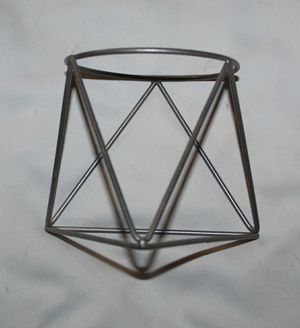 Ceramic Triangle Flower Pot for Sale in London, KY