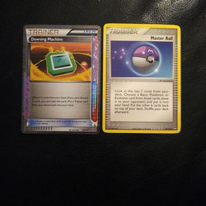 Pokemon Trainer Dowsing Machine 128/135 , Master Ball 78/108 for Sale in Los Angeles, CA