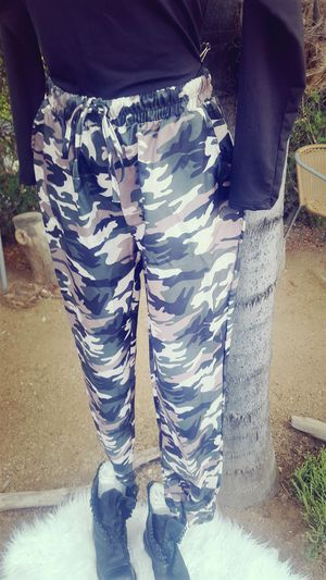 Camo pants only, sizes M/L for Sale in Fallbrook, CA