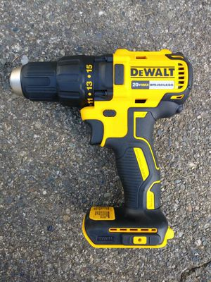 DeWalt 20 Volt Brushless Drill (tool only) for Sale in Tacoma, WA