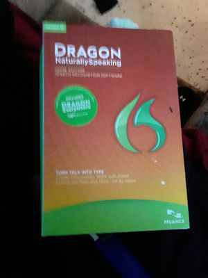 Dragon naturally speaking version 12 brand new in box for Sale in Seattle, WA