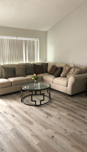 Ashley sectional couch for Sale in Costa Mesa, CA