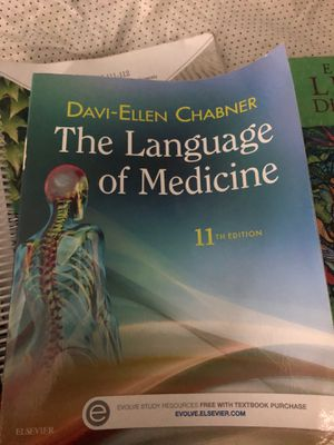 The language of medicine 11th edition for Sale in Portland, OR