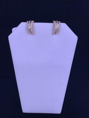 Women's Diamond Earrings 1.08ctw 7g 14kt for Sale in Phoenix, AZ