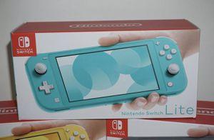Brand new Nintendo Switch Lite / 32 GB - Blue for Sale in Boston, MA