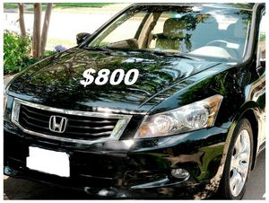 $8OO🔥 Very nice 🔥 2OO9 Honda accord sedan Run and drive very smooth clean title!!!! for Sale in Memphis, TN
