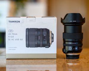 Tamron 24-70mm F/2.8 Di VC G2 - (Nikon) for Sale in Edgewood, WA