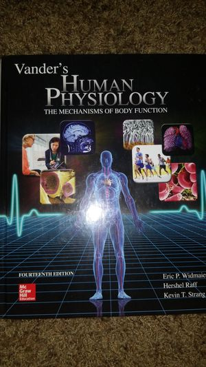 Vander's Human Physiology Textbook for Sale in Chico, CA