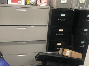 FREE!! Lateral/Vertical Filing Cabinets for Sale in Falls Church, VA