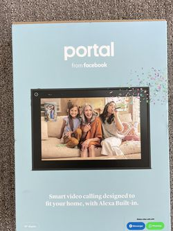 Facebook Portal Picture Frame/ Video Call for Sale in Denver,  CO