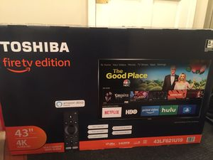 Toshiba fire Tv w/ Alexa installed for Sale in Boston, MA