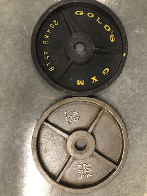 Assorted Olympic weights for Sale in Atlanta, GA