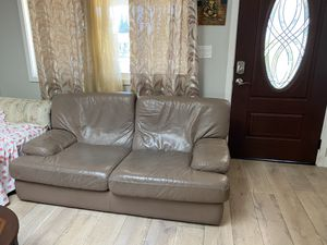 Genuine Leather Sofa for Sale in Fremont, CA