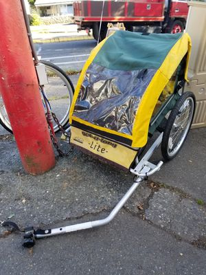 Bike Trailer Get-A-Long Lite by Cycle Design DOUBLE OR SINGLE for Sale in Seattle, WA